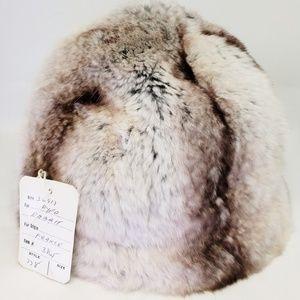 Vintage Rabbit Fur Ladies Hat